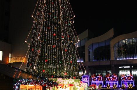 スカイビル クリスマスツリー