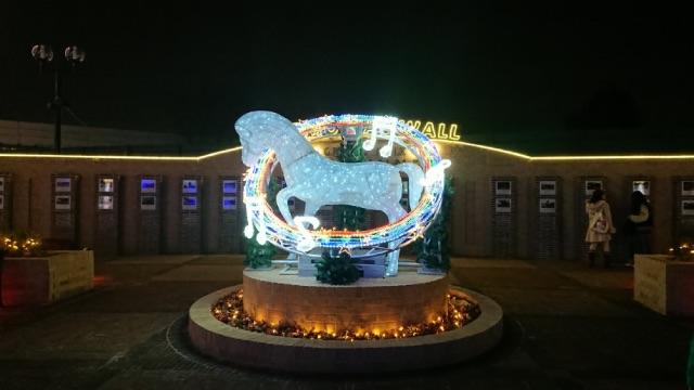 中山競馬場イルミネーションの画像