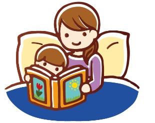 寝る前の絵本