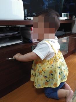 赤ちゃんの夏服(チュニック+スパッツ)