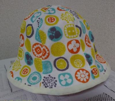 赤ちゃん夏用帽子の表地