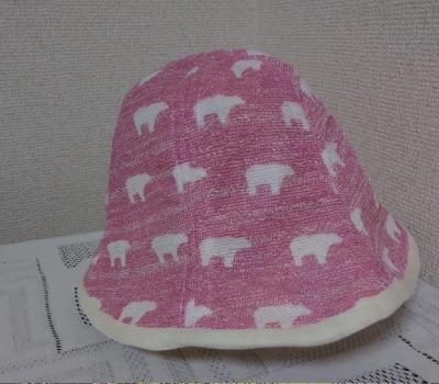 赤ちゃん夏用帽子の裏地
