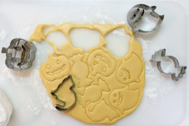 ハロウィンの手作りクッキー