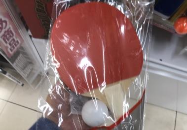 100均で売っている卓球のラケット