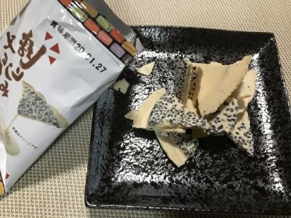 小松製菓のチョコせんべい