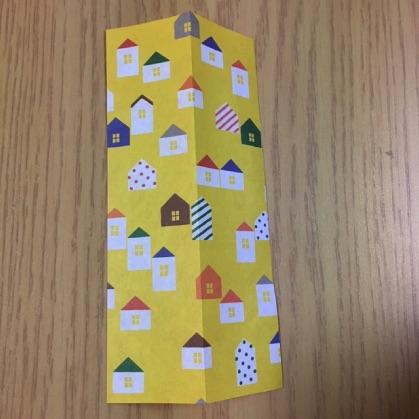 シャツの折り紙・手順2