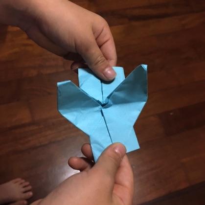 折り紙カメラの遊び方2