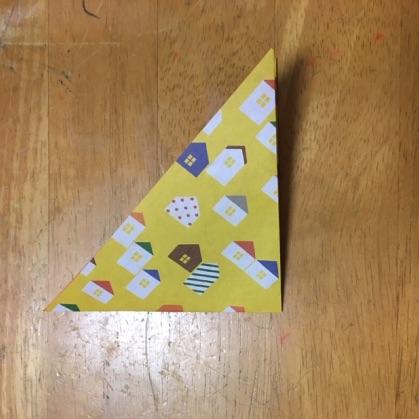 リボン折り紙の手順2