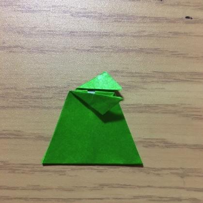 ペンギン折り紙の折り方8