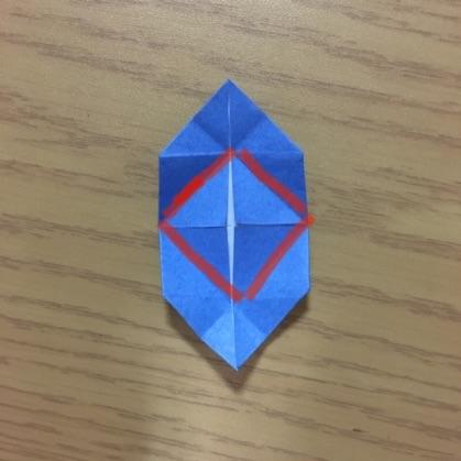 折り紙でカメラの折り方10