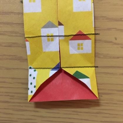 シャツの折り紙・手順9