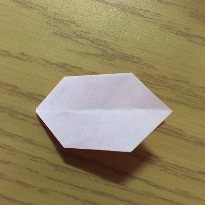 折り紙で指輪の作り方12