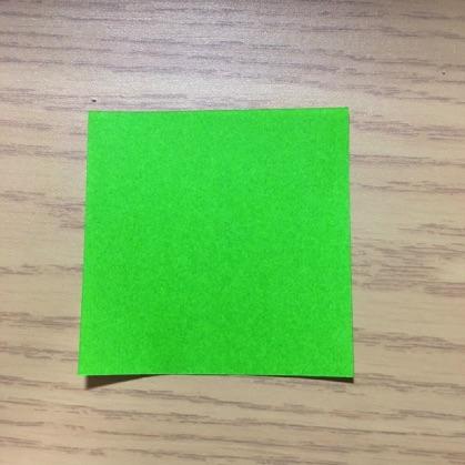 ペンギン折り紙の折り方1