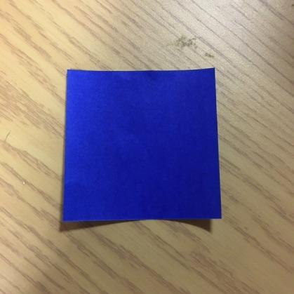 折り紙でカメラの折り方1