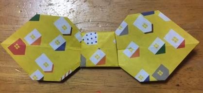 折り紙のリボン