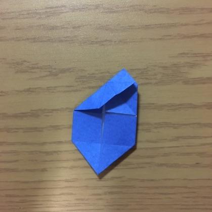 折り紙でカメラの折り方9