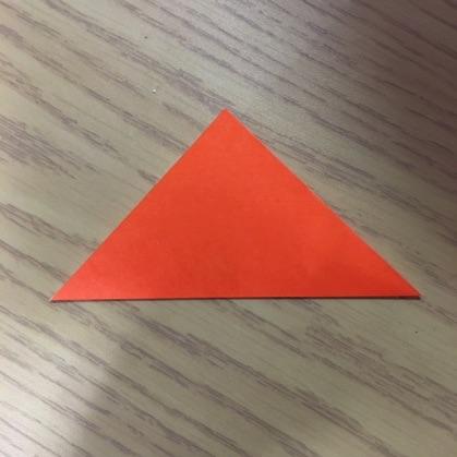 折り紙で指輪の作り方2