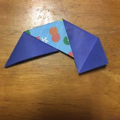 折り紙ドーナツの手順11
