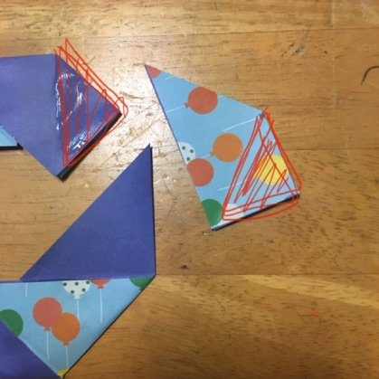 折り紙ドーナツの手順13