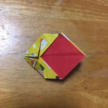 リボン折り紙の手順13