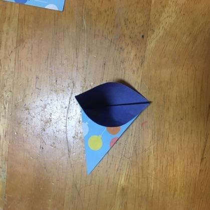 折り紙ドーナツの手順4