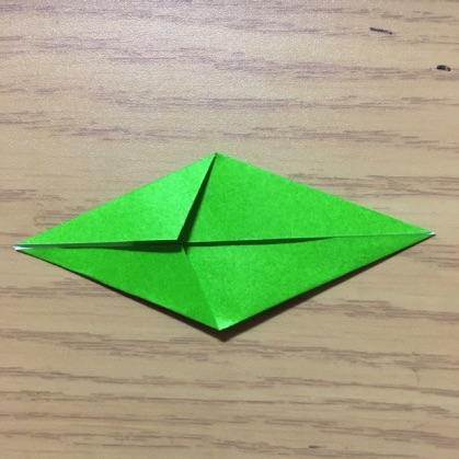 ペンギン折り紙の折り方4