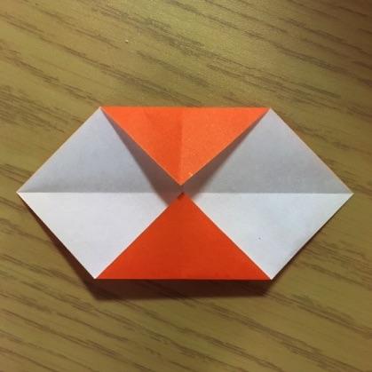 折り紙で指輪の作り方5