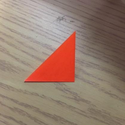 折り紙で指輪の作り方3