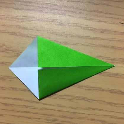 ペンギン折り紙の折り方3
