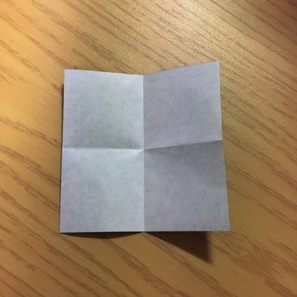 折り紙でカメラの折り方4
