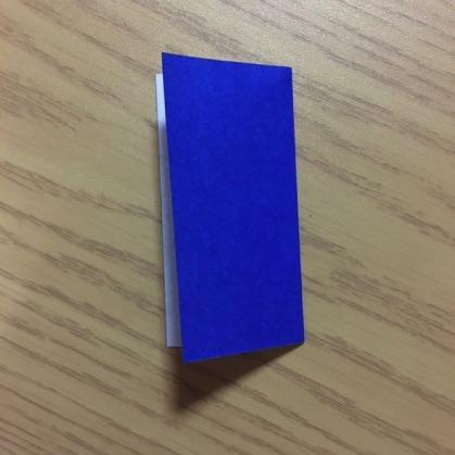 折り紙でカメラの折り方2