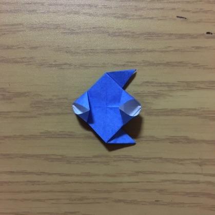 折り紙でカメラの折り方14