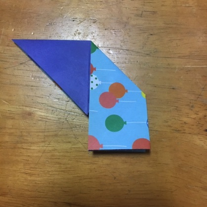 折り紙ドーナツの手順10