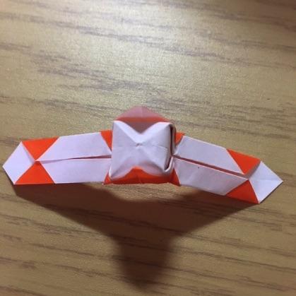 折り紙で指輪の作り方16