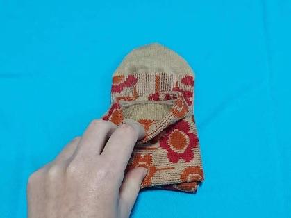 靴下のコンパクトなたたみ方6