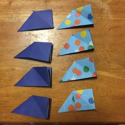 折り紙ドーナツの手順7