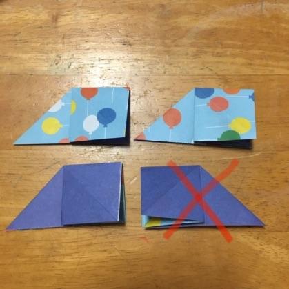 折り紙ドーナツの手順8
