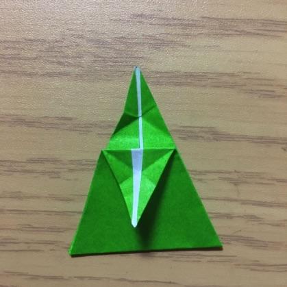 ペンギン折り紙の折り方9