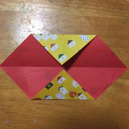 リボン折り紙の手順3_2