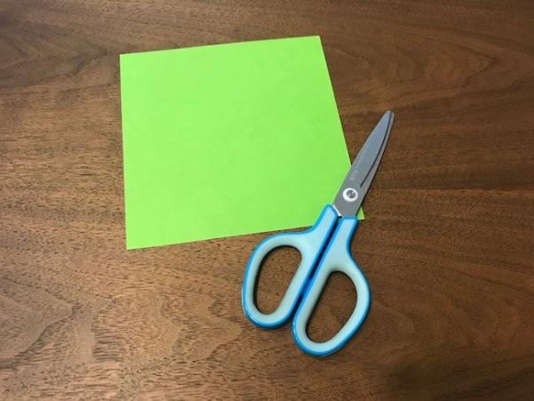 立体ツリー折り紙で使用するもの
