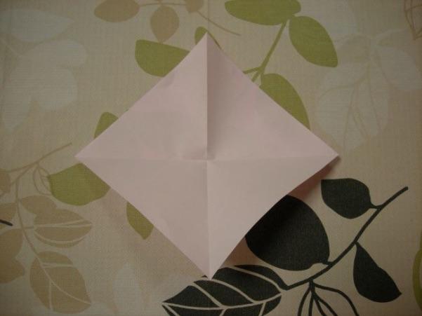ハートの折り方4
