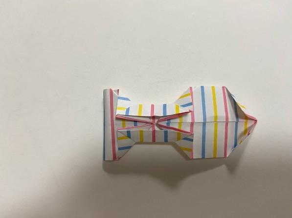 折り紙でリボンの折り方・手順12