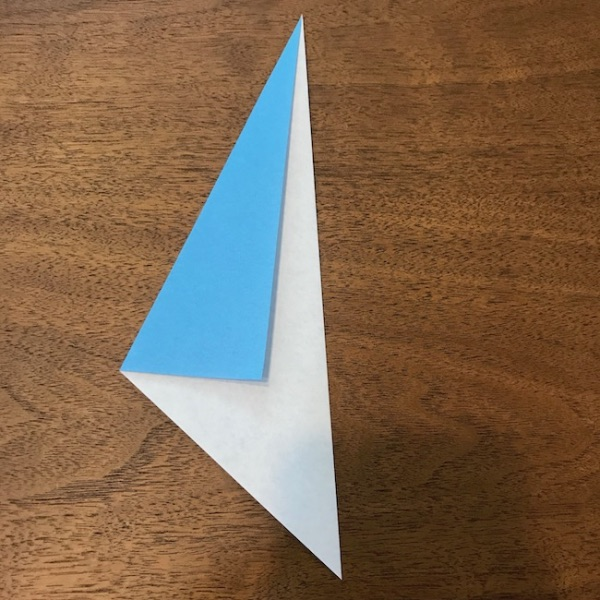 折り紙ペンギン立体の作り方・手順4