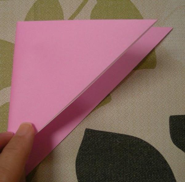 ハートの折り方3