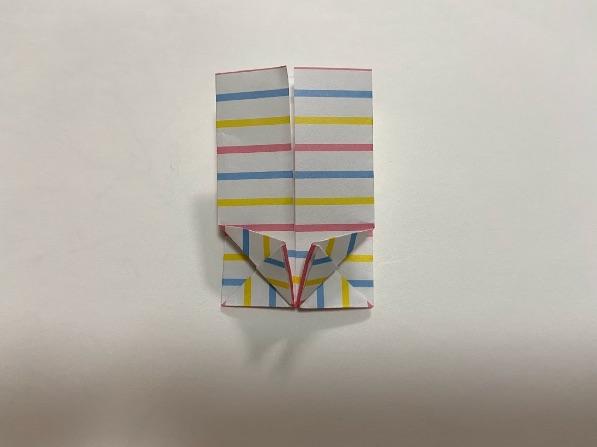 折り紙でリボンの折り方・手順8