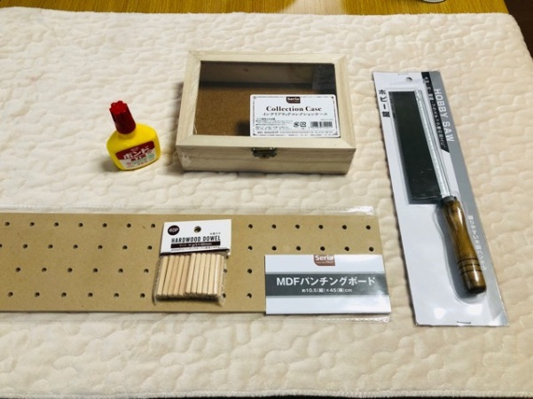 ミシン糸収納ケース100均手作りの材料