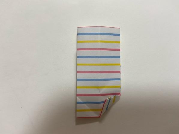 折り紙でリボンの折り方・手順5