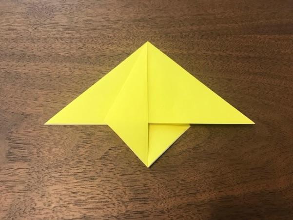 折り紙で星の折り方6