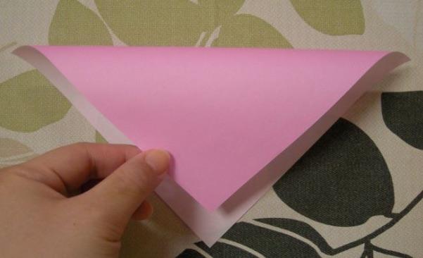 ハートの折り方2