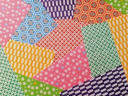 柄のついた折り紙